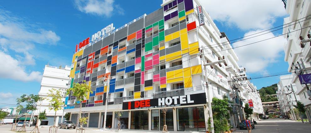 Картинки по запросу i dee hotel patong phuket